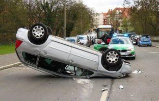 Bevölkerungsschutz Auto Unfall